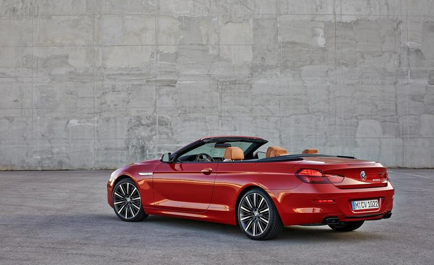 2016 BMW 6-series convertible - Slide 17