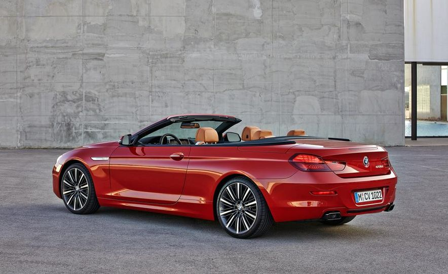 2016 BMW 6-series convertible - Slide 18