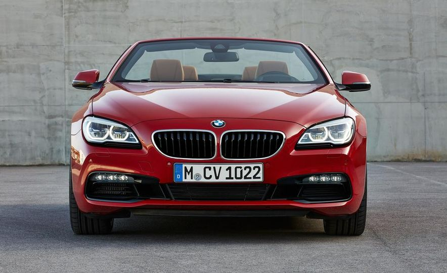 2016 BMW 6-series convertible - Slide 19