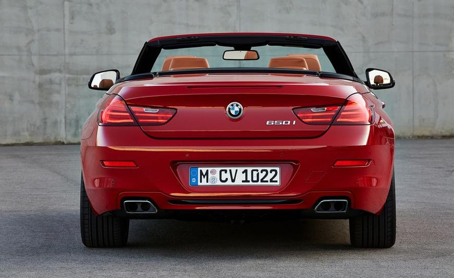 2016 BMW 6-series convertible - Slide 20