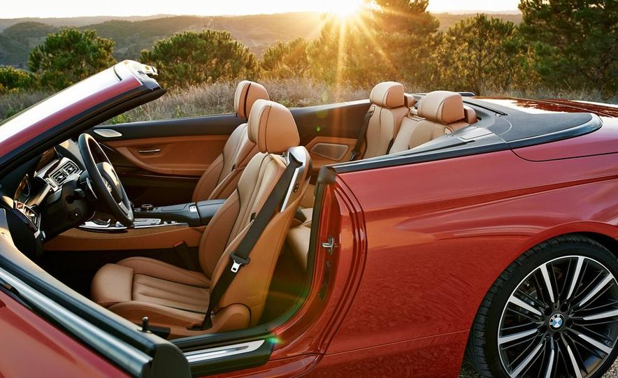 2016 BMW 6-series convertible - Slide 22