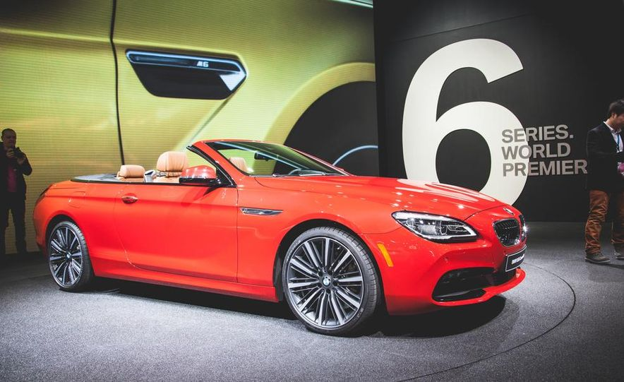 2016 BMW 6-series convertible - Slide 1