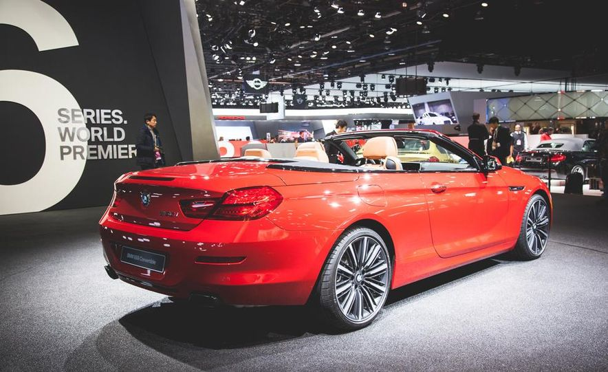 2016 BMW 6-series convertible - Slide 3
