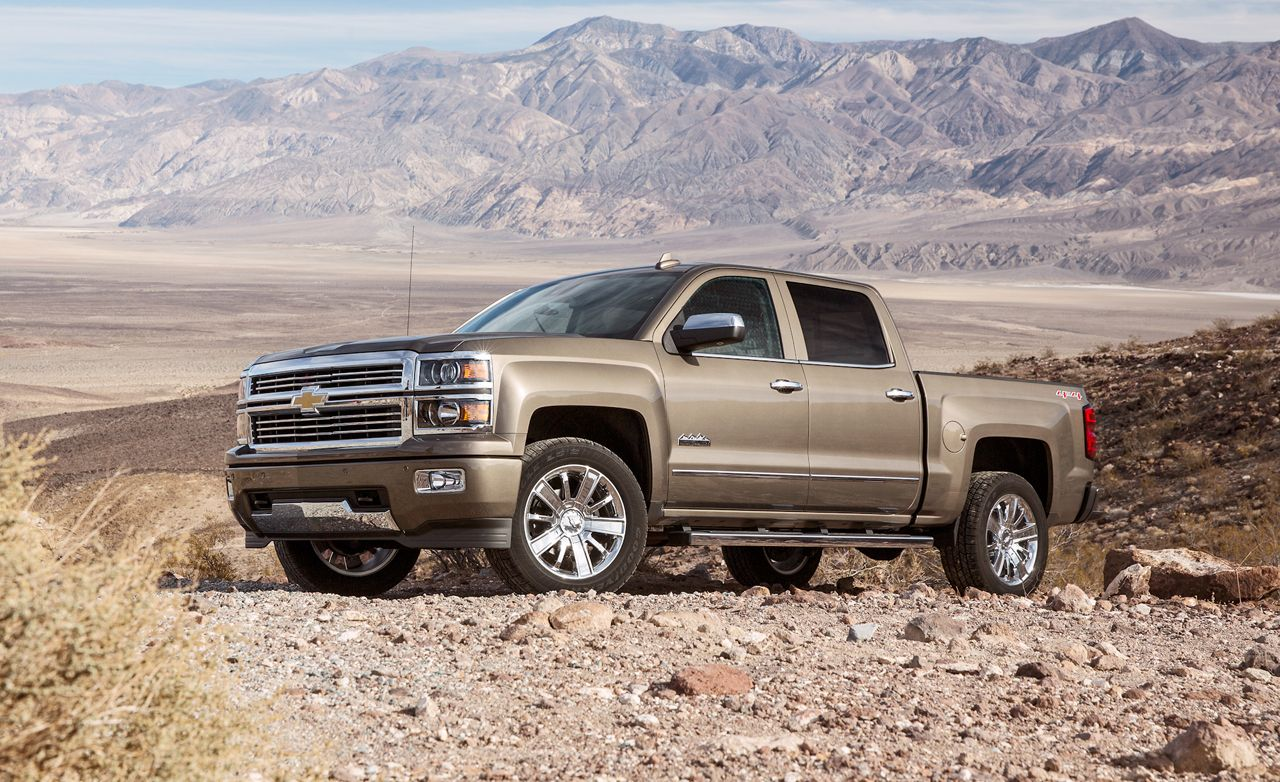 2015 Chevrolet Silverado 1500 High Country 6.2L 4WD Crew Cab