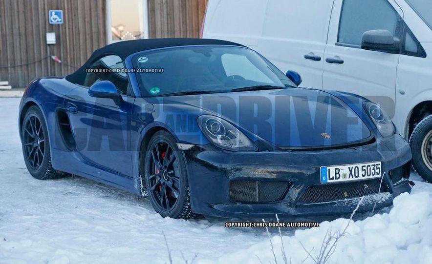 2016 Porsche Boxster GT4 (spy photo) - Slide 2