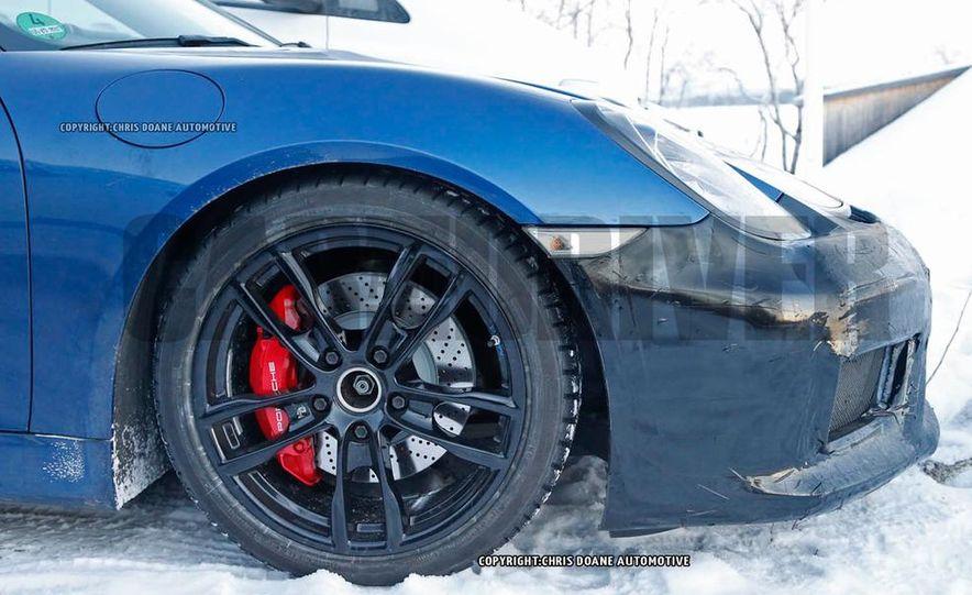 2016 Porsche Boxster GT4 (spy photo) - Slide 10