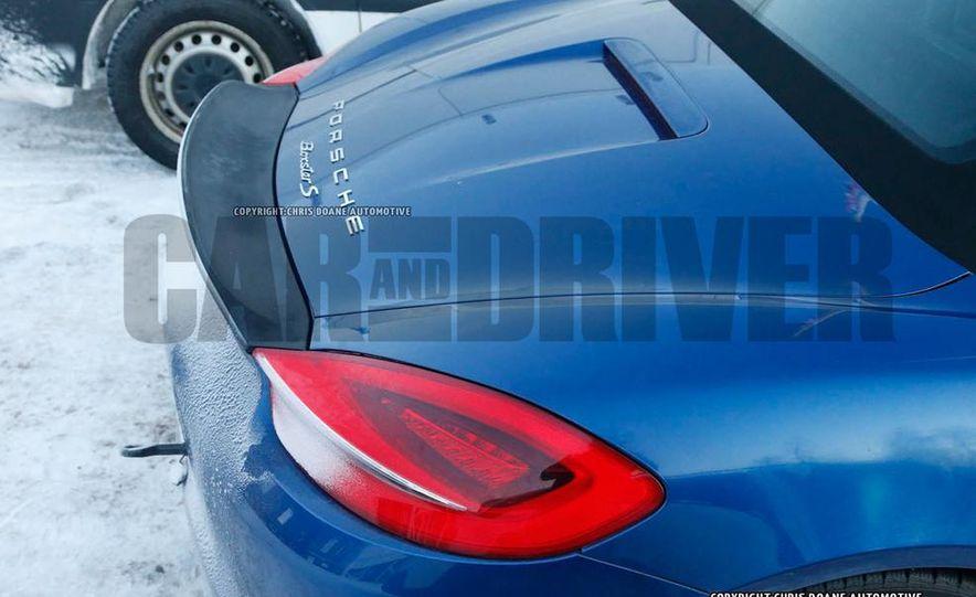 2016 Porsche Boxster GT4 (spy photo) - Slide 12