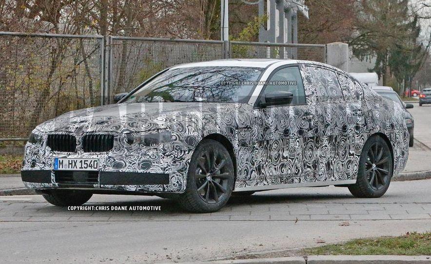 2017 BMW 5-series (spy photo) - Slide 2