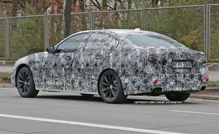 2017 BMW 5-series (spy photo) - Slide 6