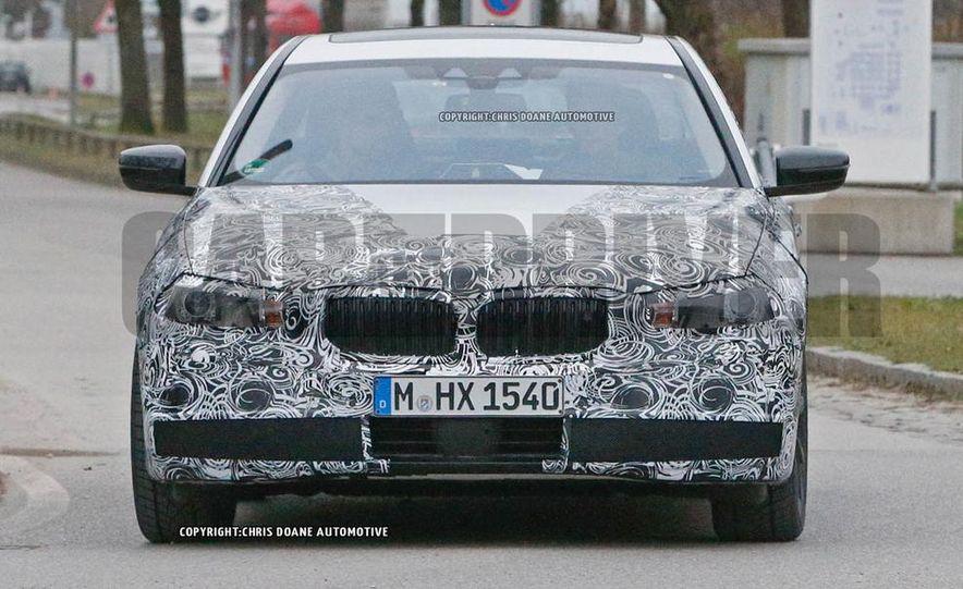2017 BMW 5-series (spy photo) - Slide 8