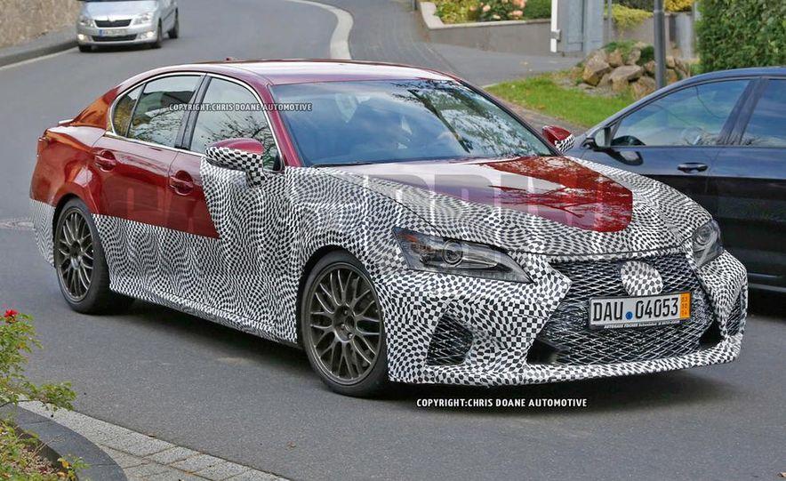 2015 Lexus GS F (spy photo) - Slide 1
