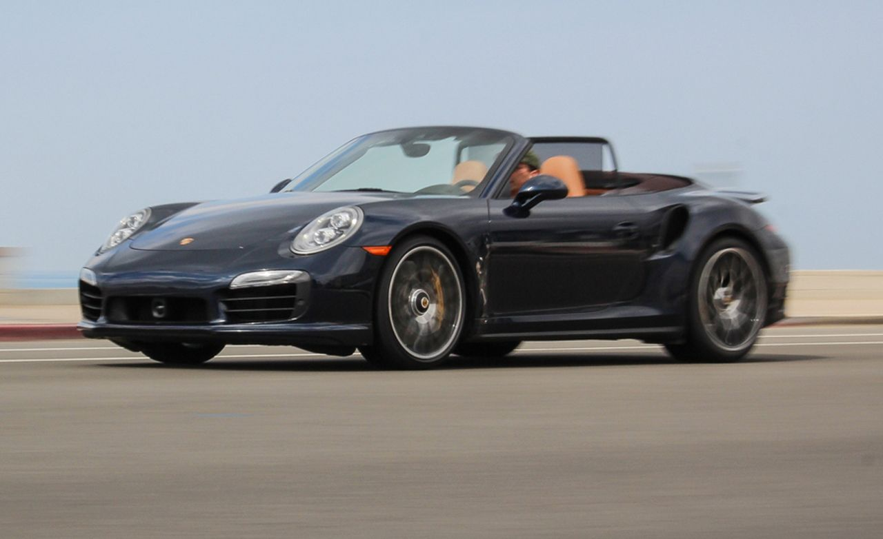 2014 porsche 911 turbo s cabriolet test review car and driver