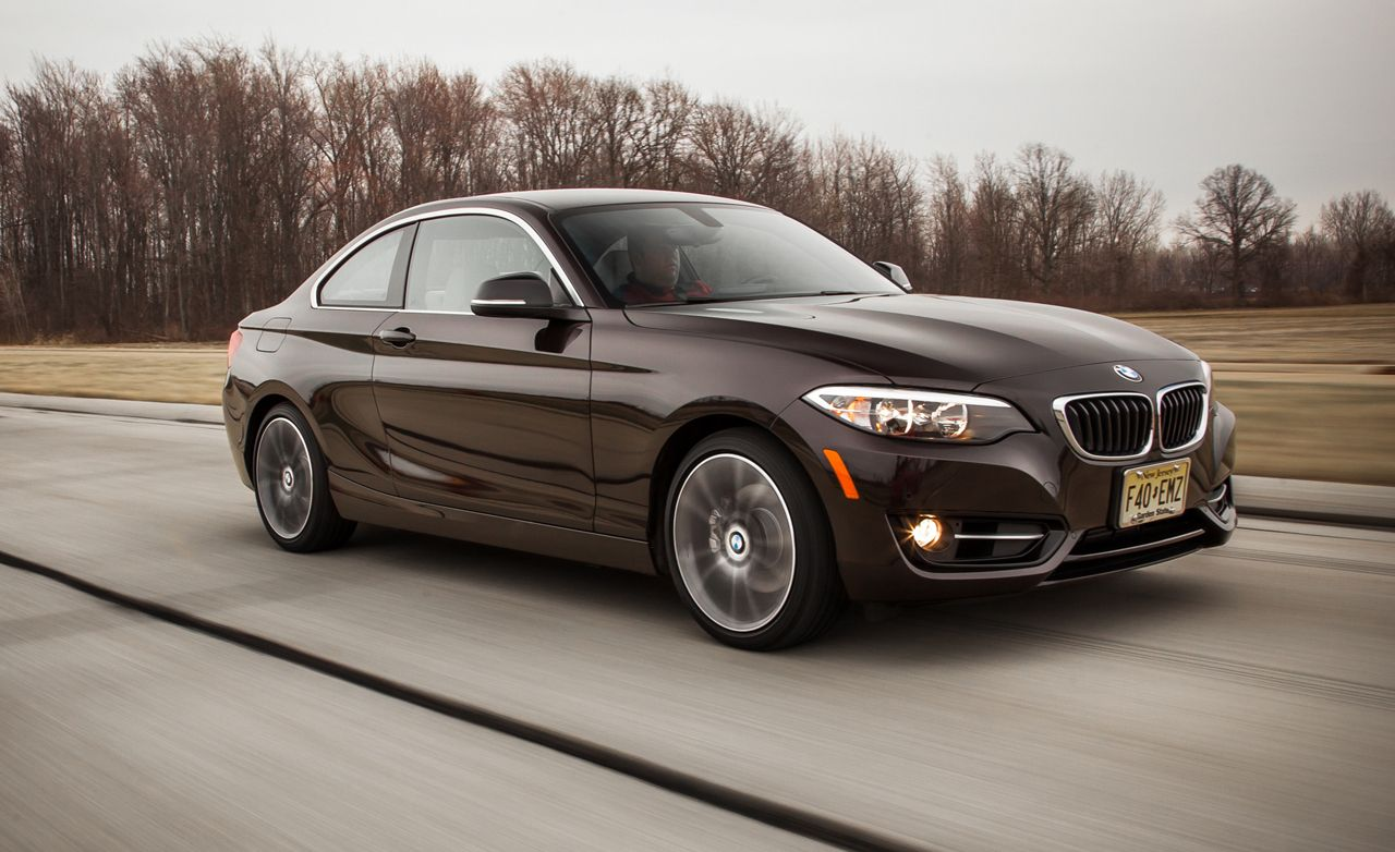 Bmw 228i Xdrive >> 2015 Bmw 228i Xdrive Coupe Test Review Car And Driver