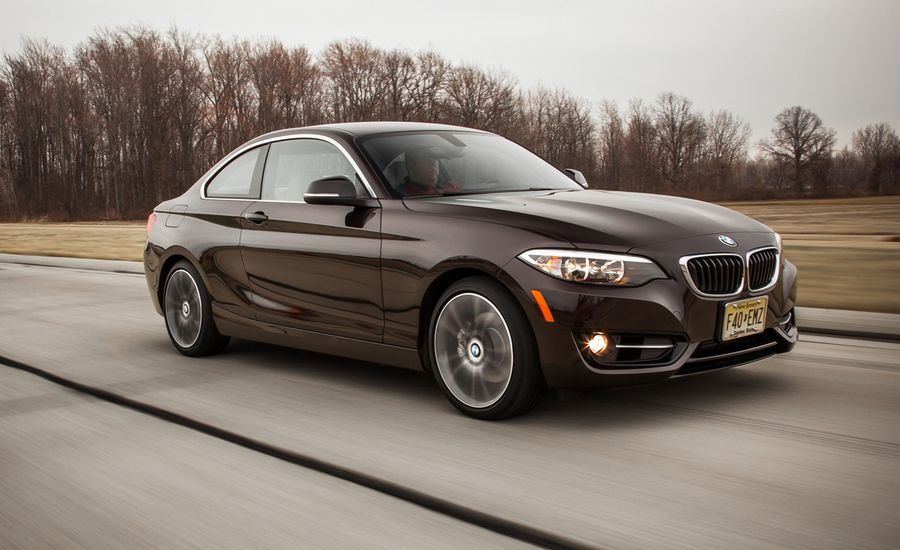 BMW I XDrive Coupe Test Review Car And Driver - 228i bmw