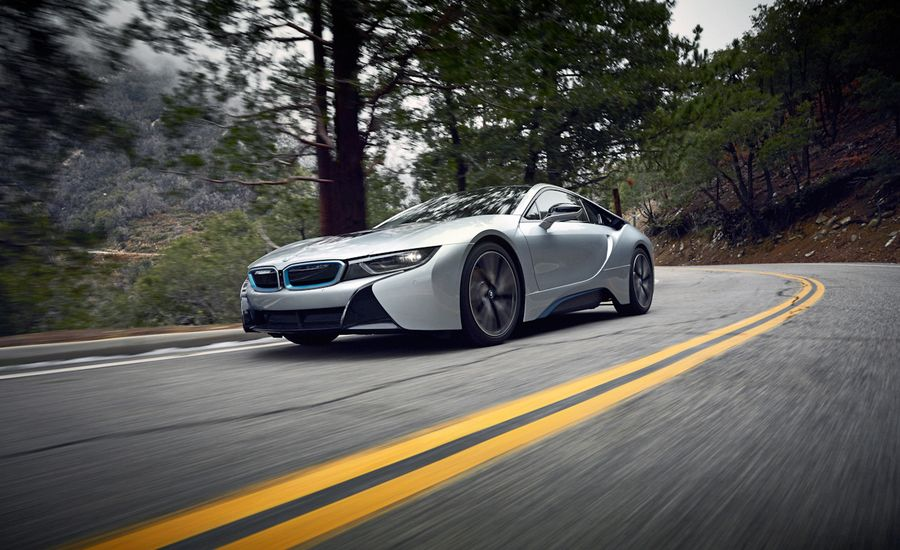 2015 Bmw I8 Vs Angeles Crest Highway Test Review Car And Driver