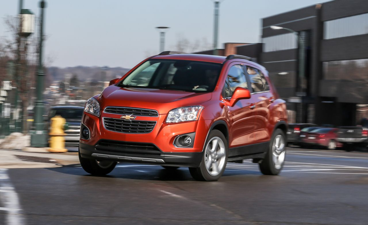 2015 chevrolet trax awd test review car and driver sciox Image collections