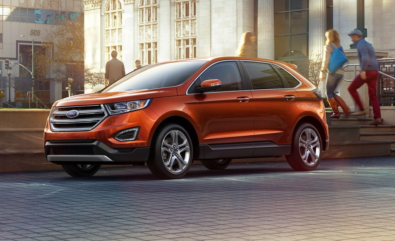 2015 ford edge titanium 3 5l v 6 awd test review car and driver