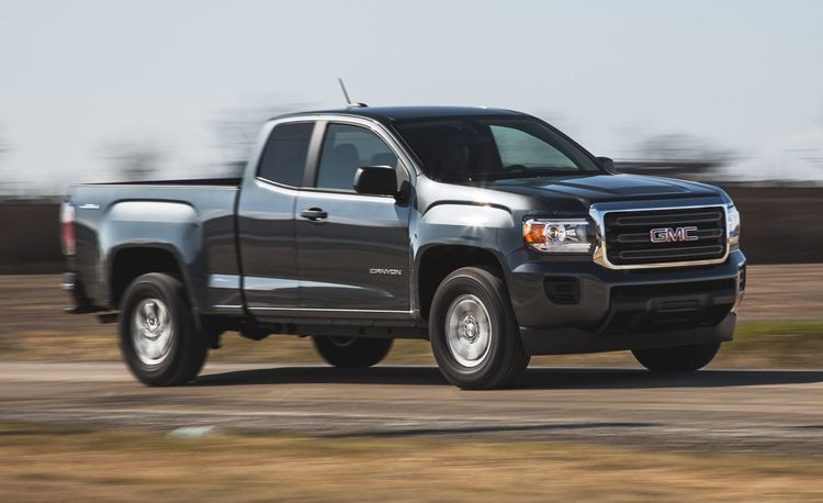2015 GMC Canyon 2.5L Automatic 4x4 Extended Cab