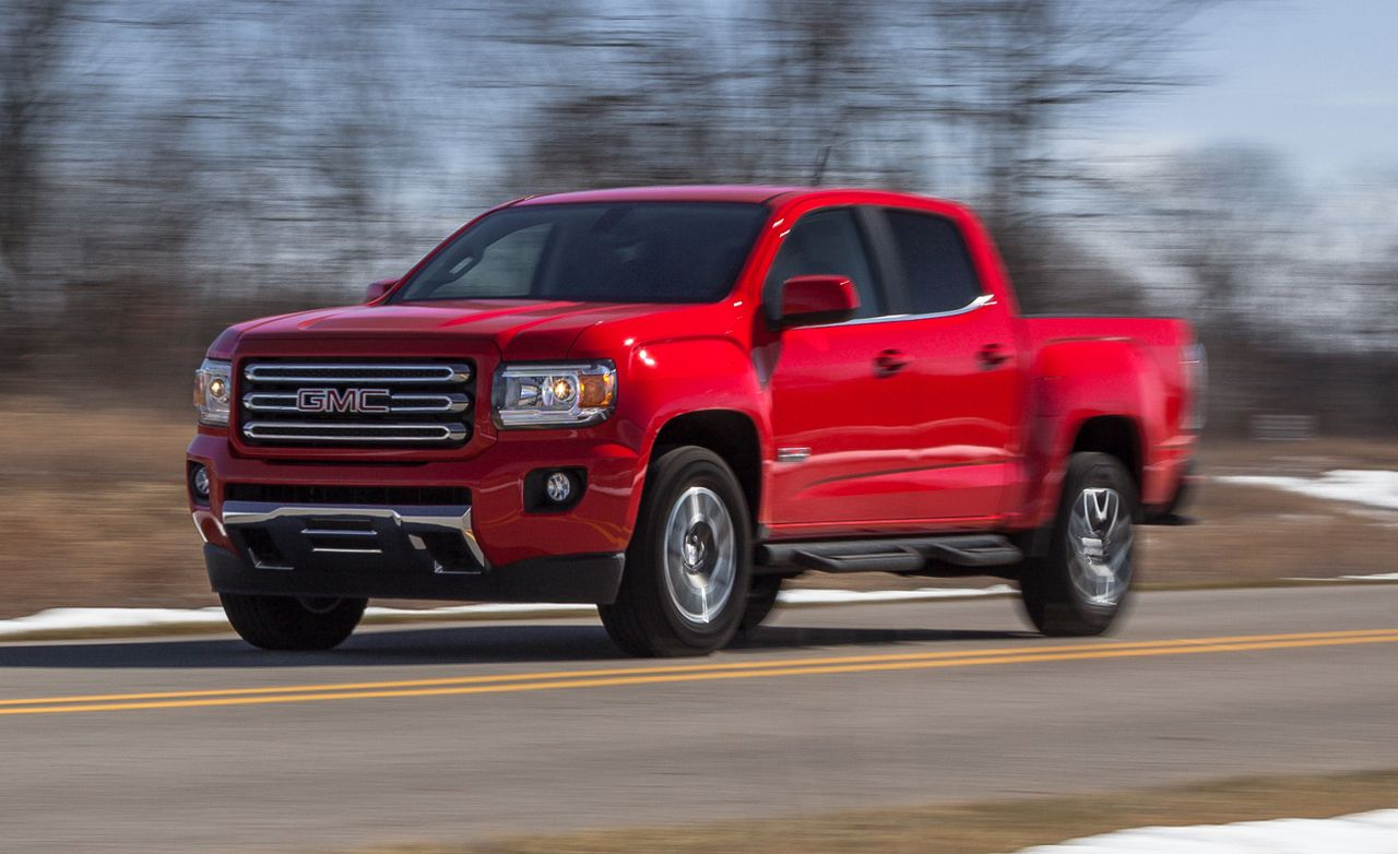 2015 GMC Canyon V-6 4x4 Crew Cab Test | Review | Car and Driver