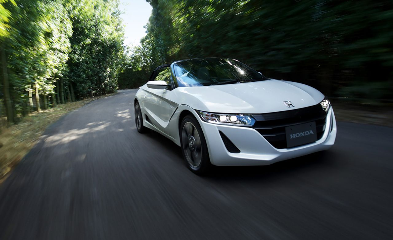 2015 Honda S660 Mid-Engine Roadster First Drive | Review ...