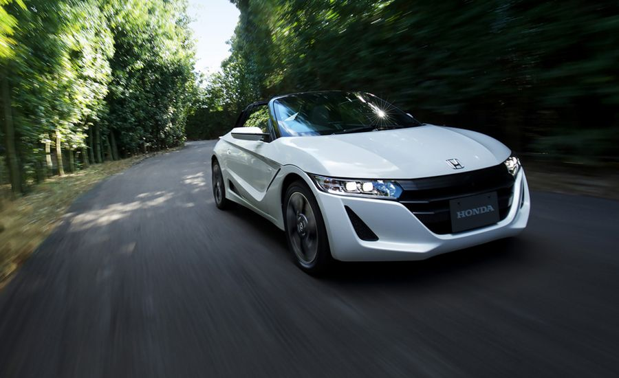 2015 Honda S660 Mid Engine Roadster First Drive Review Car And