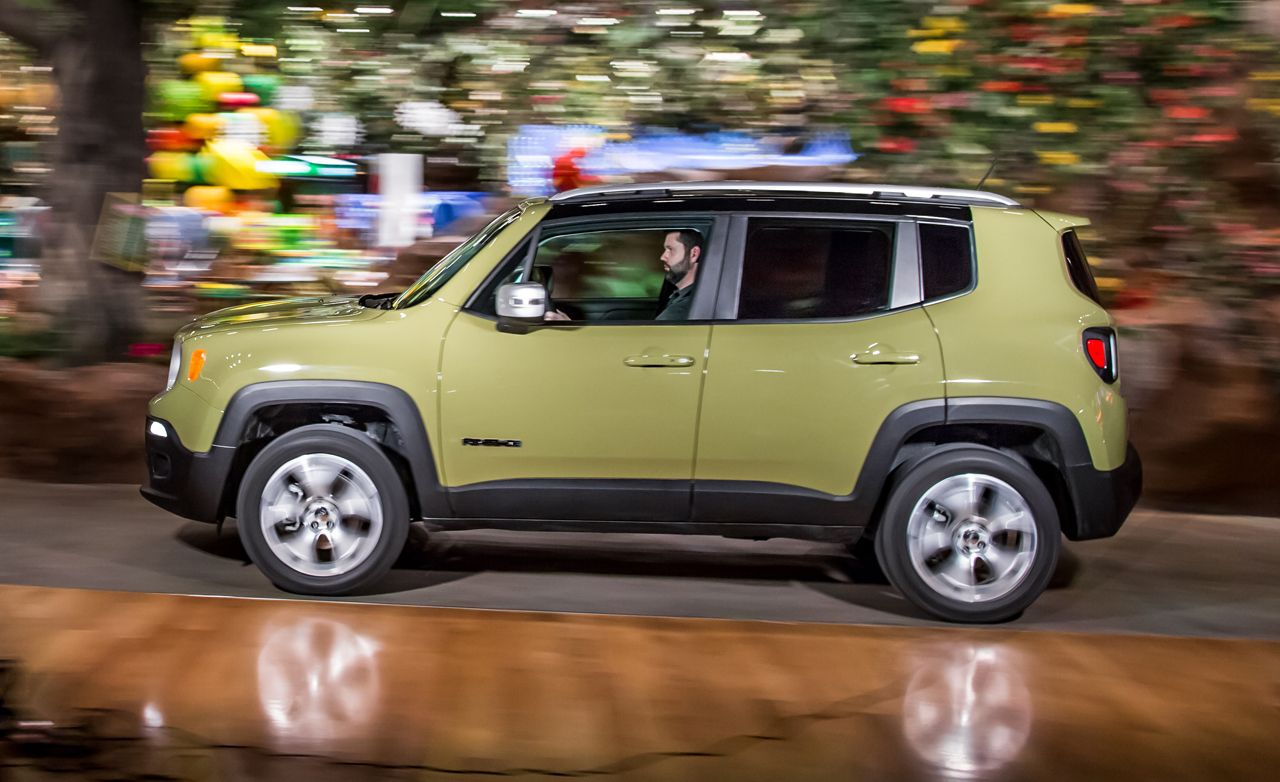 Jeep Renegade 4x4 >> 2015 Jeep Renegade Limited 4x4 Test Review Car And Driver