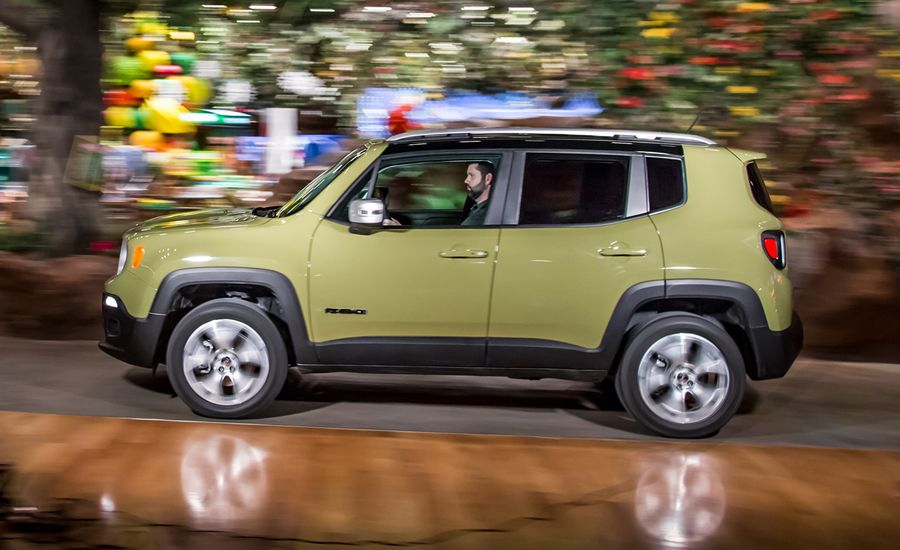 2015 jeep renegade limited 4x4 test review car and driver. Black Bedroom Furniture Sets. Home Design Ideas