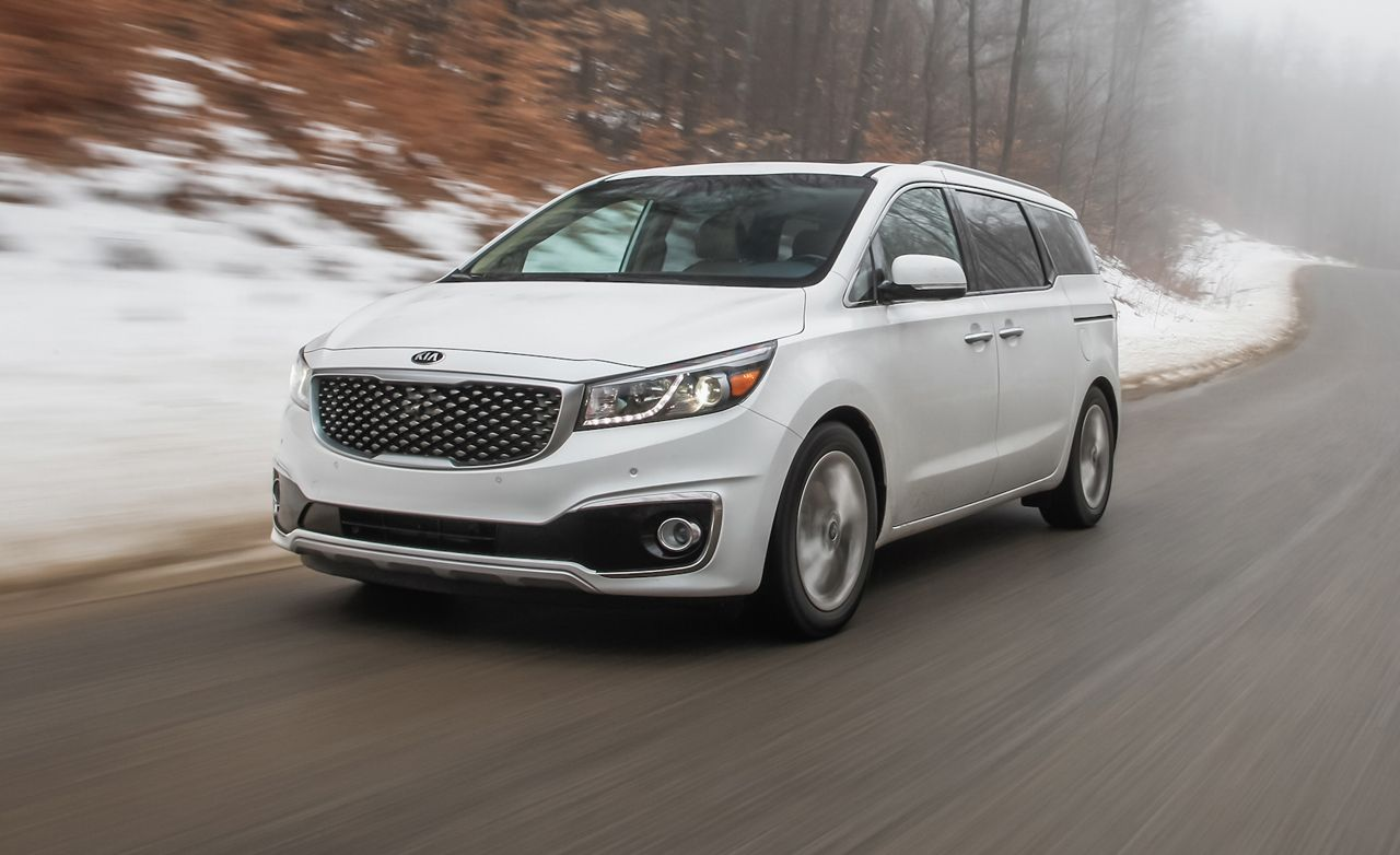 2015 kia sedona instrumented test review car and driver. Black Bedroom Furniture Sets. Home Design Ideas