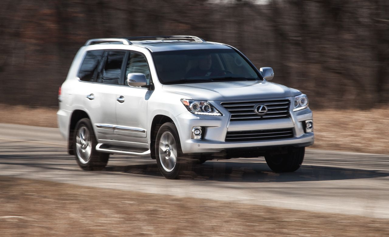 2015 lexus lx570 test – review – car and driver