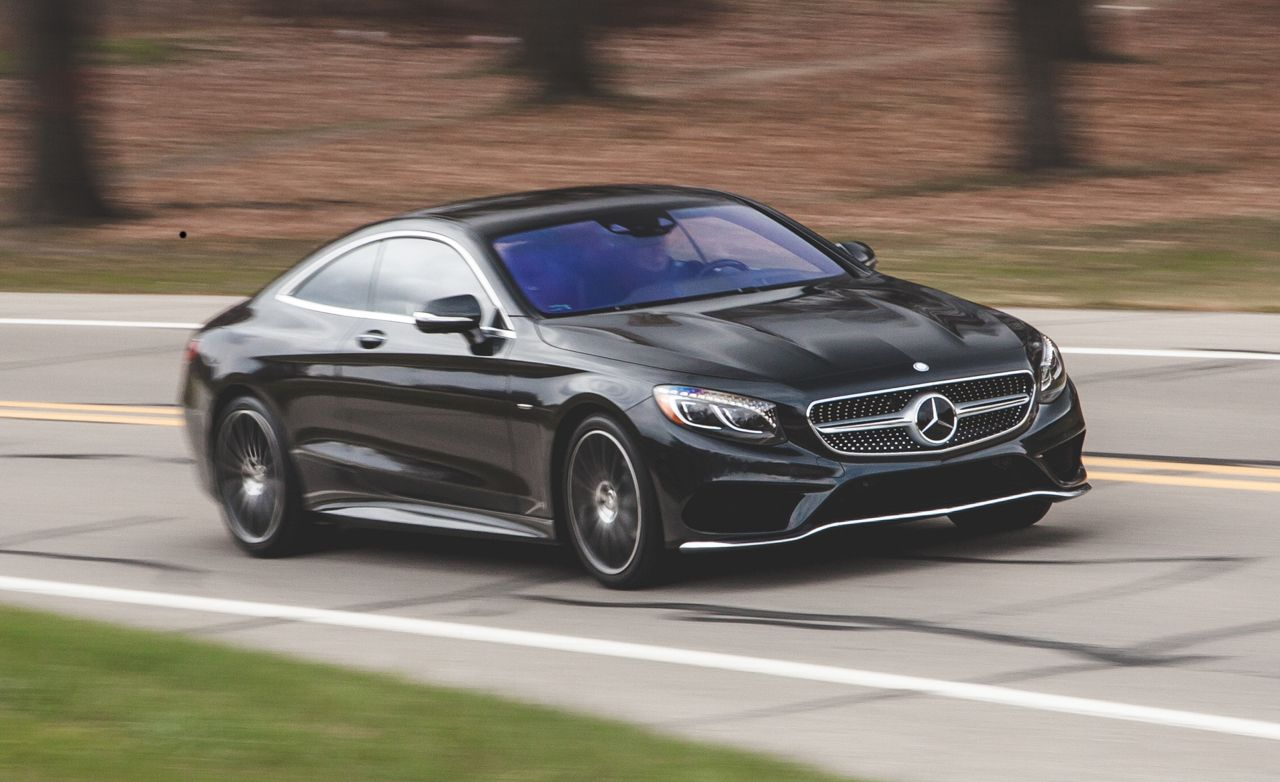 2015 mercedes benz s550 4matic coupe test review car and driver