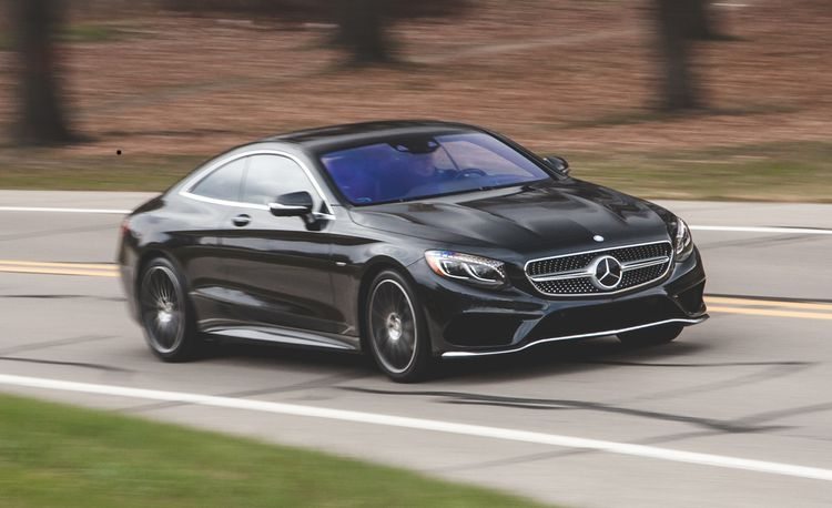 2015 Mercedes-Benz S550 4MATIC Coupe