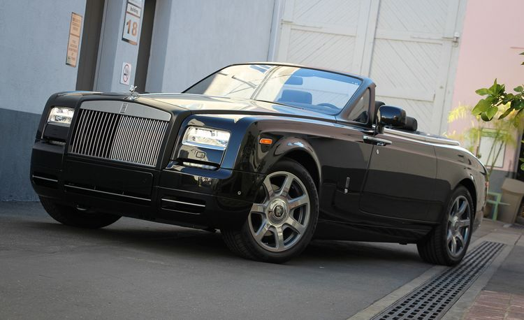 2015 Rolls-Royce Phantom Drophead Coupe Nighthawk