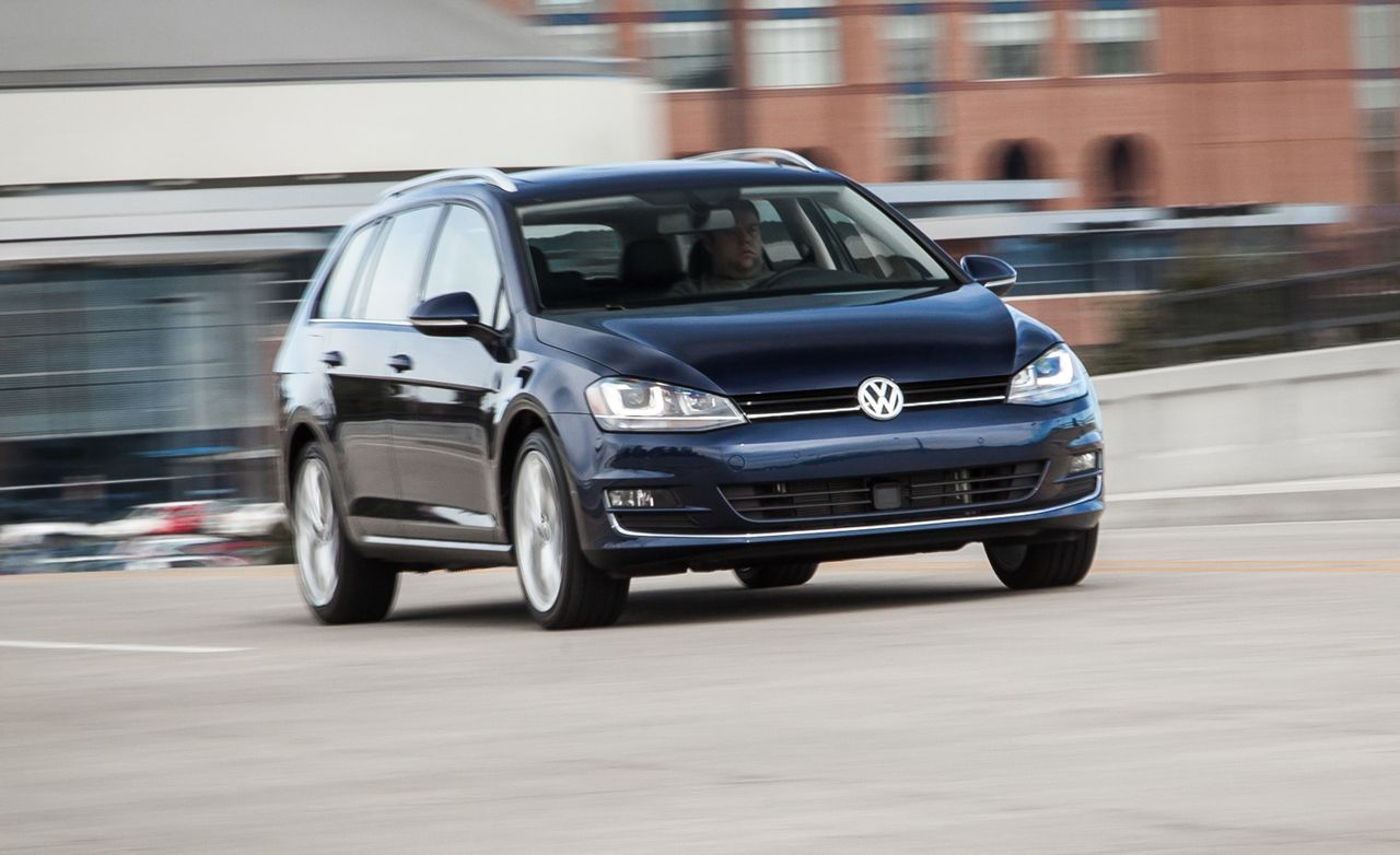2015 VW Golf SportWagen TDI Manual Test – Review – Car and  Driver