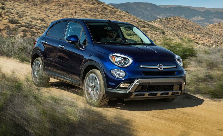 2016 fiat 500x first drive review car and driver. Black Bedroom Furniture Sets. Home Design Ideas