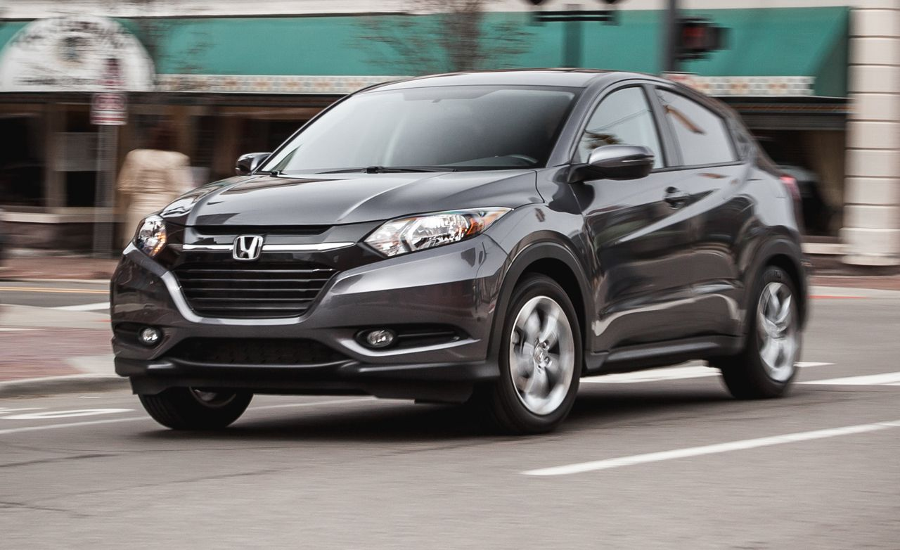 2016 honda hr v fwd manual instrumented test review car and driver. Black Bedroom Furniture Sets. Home Design Ideas