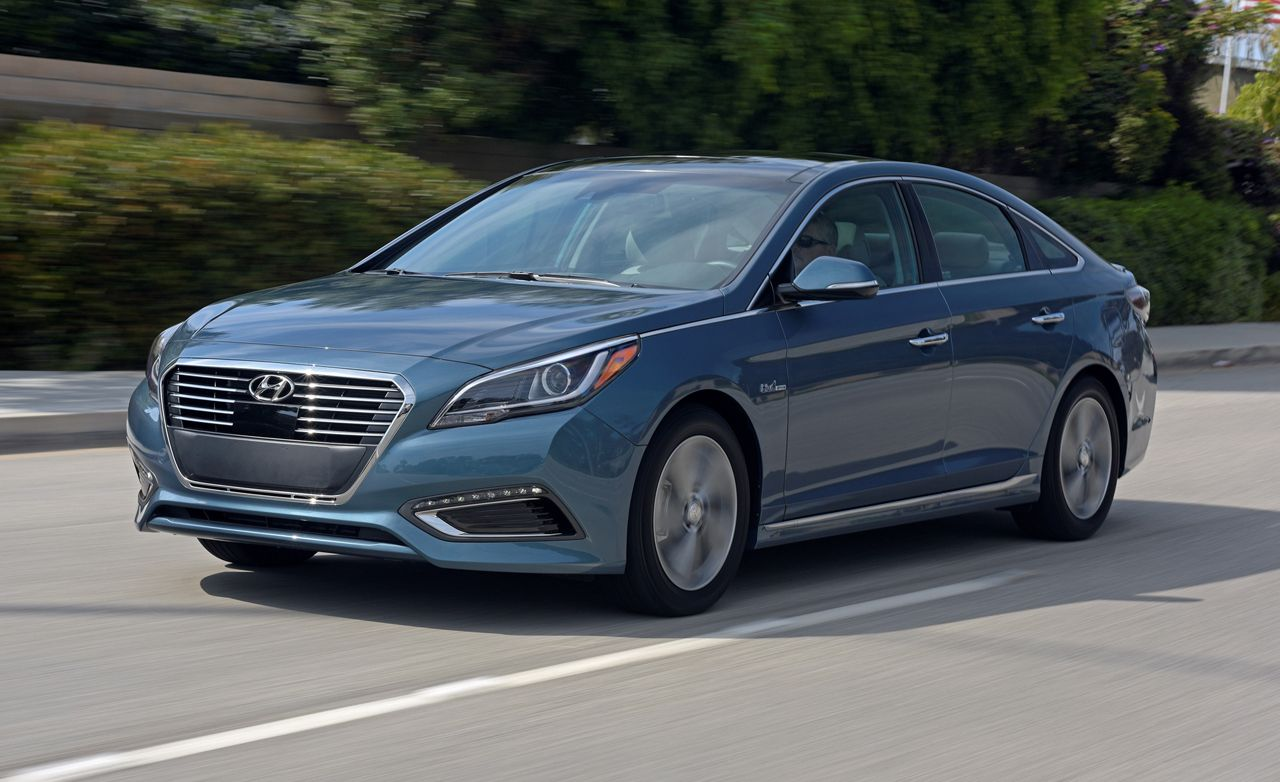 2016 Hyundai Sonata Hybrid And Plug In Hybrid