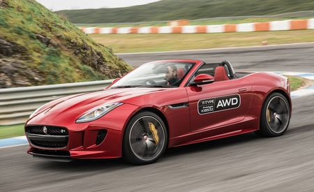 2016 Jaguar F-type Manual and AWD