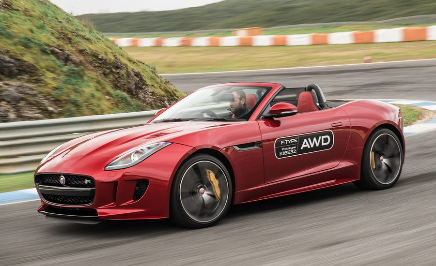 2016 Jaguar F-type Manual and AWD First Drive | Review | Car and Driver