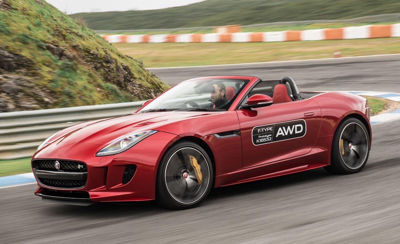 2016 Jaguar F Type Manual And AWD
