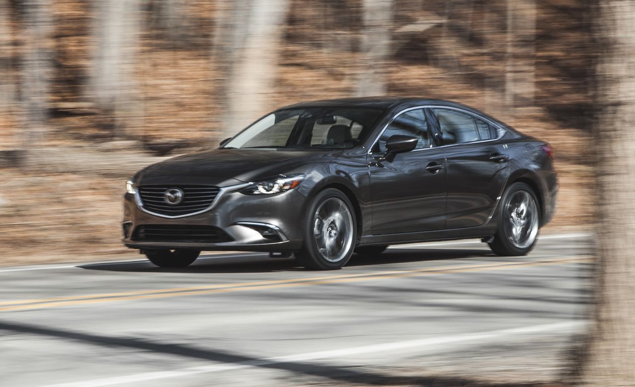 2016 mazda 6 i grand touring test review car and driver rh caranddriver com Golf GTI 0-60 2014 Mazda 6 Exhaust