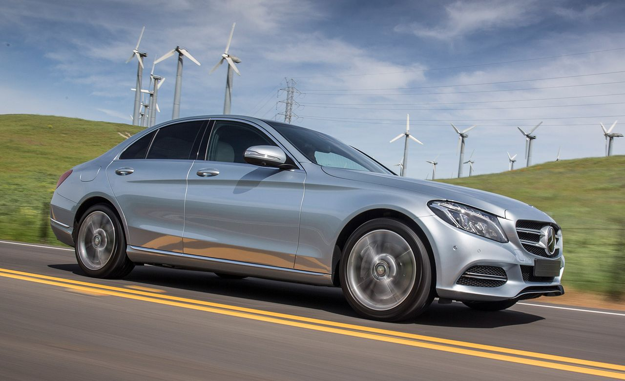 2016 mercedes benz c350e plug in hybrid drive review car and driver