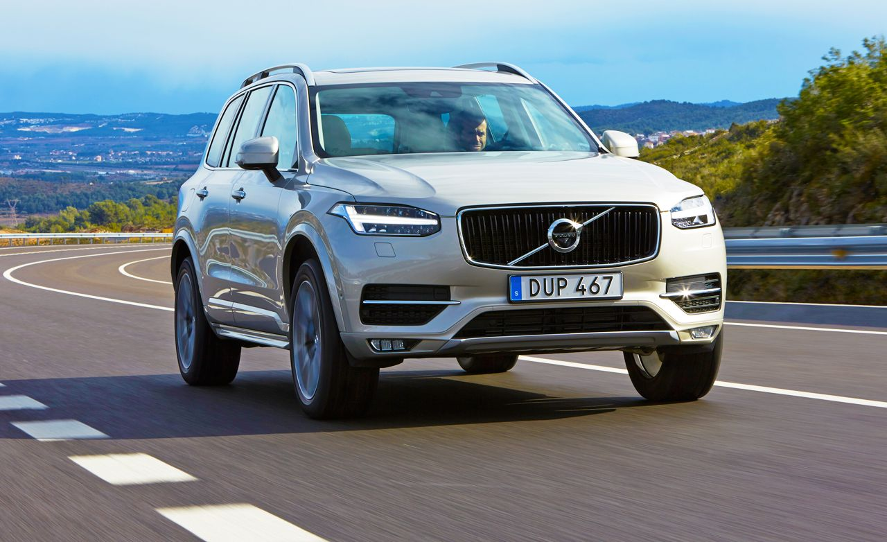2016 Volvo Xc90 First Drive Review Car And Driver