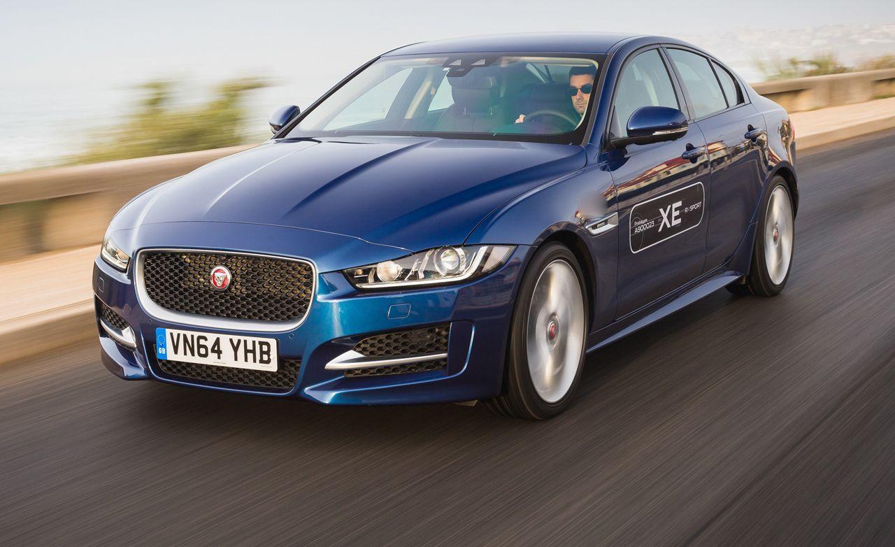 Jaguar xe diesel review