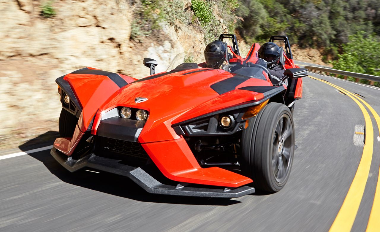 Polaris slingshot first drive review car and driver buycottarizona