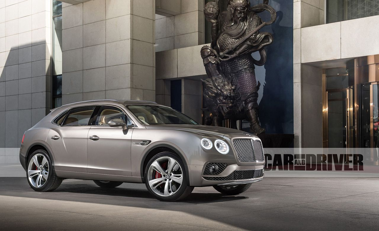 2016 Bentley Bentayga: The Height of Luxury