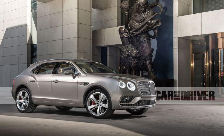 2016 Bentley Bentayga: The Height of Luxury