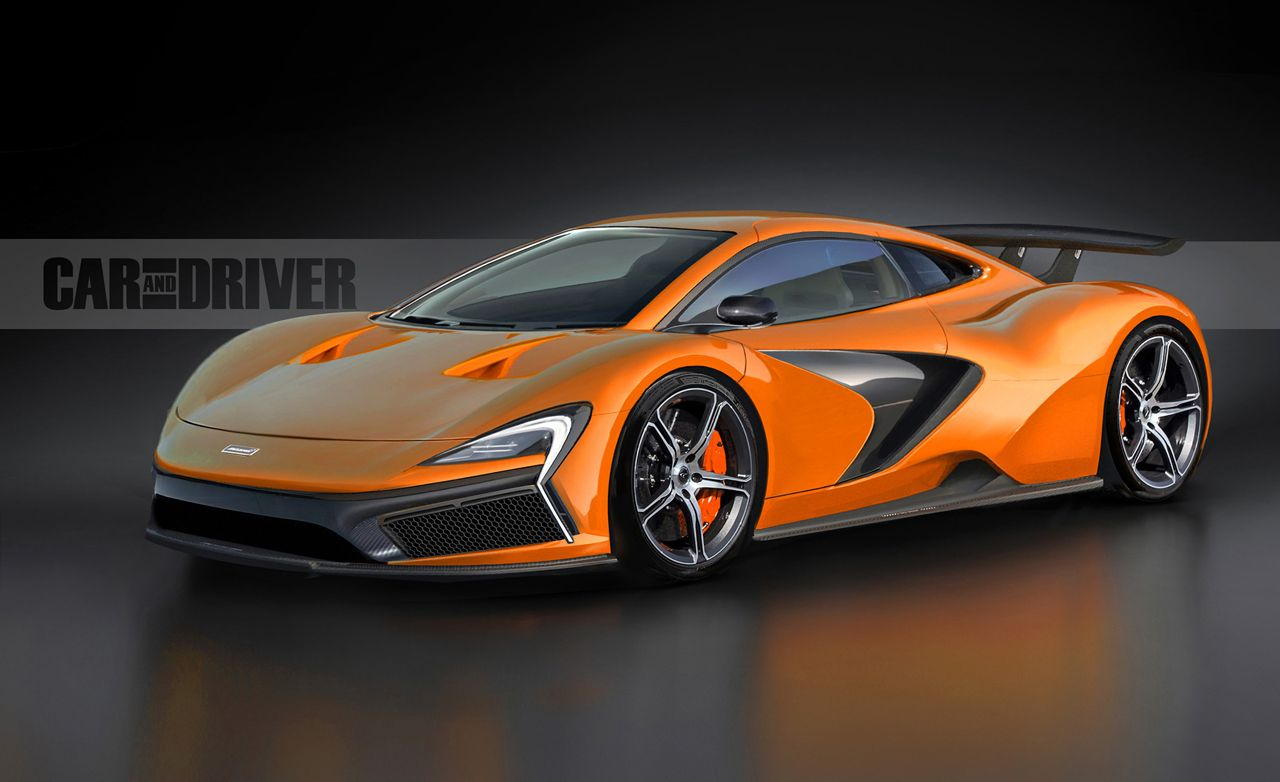 2016 McLaren P14 Supercar: A Junior P1