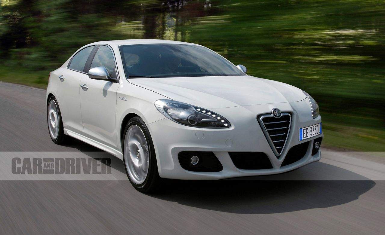 Alfa romeo giulietta model comparison