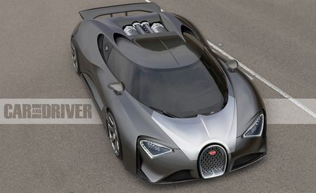 2017 Bugatti Chiron: The $2.5-million, 1500-hp Son of Veyron