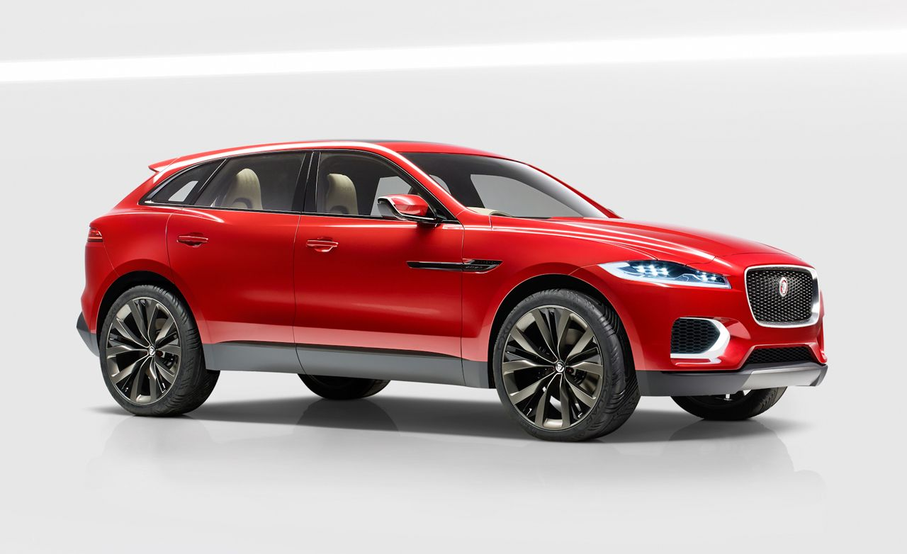 2017 Jaguar F-Pace: Jag's First Crossover Looms